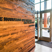 """""""The Mountains are calling and I must go"""" quote by John Muir at REI Seattle Washington"""