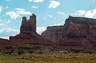 Monument Valley, Monument Pass, Utah, Navajo Nation Reservation, Indian Housing