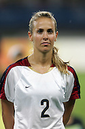 15 August 2008: Heather Mitts (USA).  The women's Olympic team of the United States defeated the women's Olympic soccer team of Canada 2-1 after extra time at Shanghai Stadium in Shanghai, China in a Quarterfinal match in the Women's Olympic Football competition.