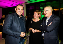 Dejan Stefanovic, Janko Dvorsak during Traditional New Year party of of the Slovenian Football Association - NZS, on December 18, 2017 in Kongresni center, Brdo pri Kranju, Slovenia. Photo by Vid Ponikvar / Sportida