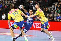 Michael Guigou - 15.03.2015 - Montpellier / Kielce - 1/8Finale aller Ligue des Champions<br /> Photo : Andre Delon / Icon Sport