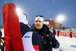 March 16, 2019 - –Stersund, Sweden - 190316 Siegfried Mazet coach of Norway after the Men's 4x7,5 km Relay during the IBU World Championships Biathlon on March 16, 2019 in Östersund..Photo: Petter Arvidson / BILDBYRÃ…N / kod PA / 92269 (Credit Image: © Petter Arvidson/Bildbyran via ZUMA Press)