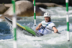 Daniel WATKINS of Australia during the Canoe Single (C1) Men SemiFinal race of 2019 ICF Canoe Slalom World Cup 4, on June 28, 2019 in Tacen, Ljubljana, Slovenia. Photo by Sasa Pahic Szabo / Sportida