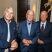 NLD/Rotterdam/20151027 - Boeklancering Leo Beenhakker, Mario van der Ende, Joerien van der Herik en Leo Beenhakker