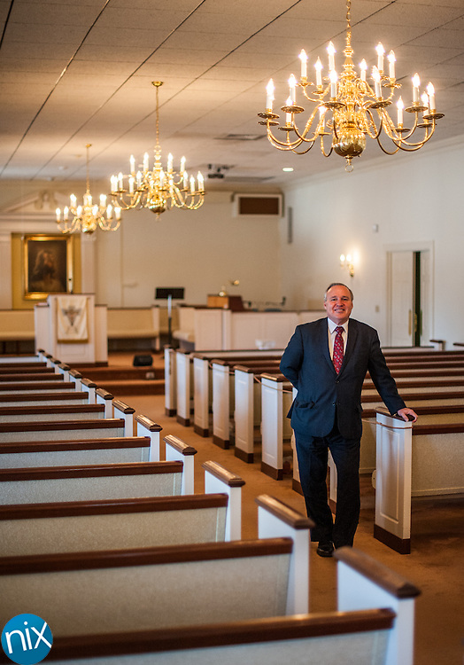 Whit Whitley at  Whitley's Funeral Home in Kannapolis.