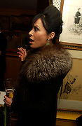 Amanda Harlech. Artists Independent Networks  Pre-BAFTA Party at Annabel's co hosted by Charles Finch and Chanel. Berkeley Sq. London. 11 February 2005. . ONE TIME USE ONLY - DO NOT ARCHIVE  © Copyright Photograph by Dafydd Jones 66 Stockwell Park Rd. London SW9 0DA Tel 020 7733 0108 www.dafjones.com
