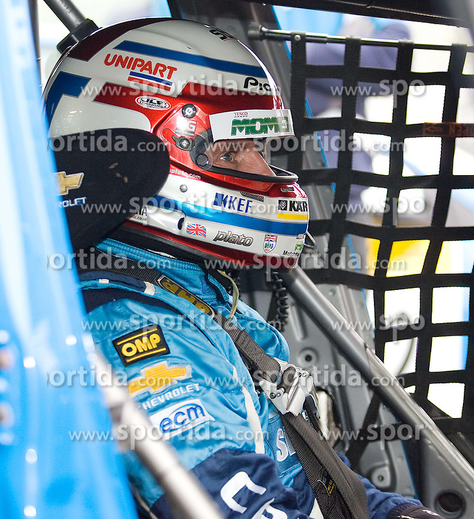 09.10.2010, Brands Hatch, ENG, British Touring Car championship, Final rounds, im Bild Silverline Chevrolet driver Jason Plato prepares for qualifying. EXPA Pictures © 2010, PhotoCredit: EXPA/ IPS/ Mark Greenwood +++++ ATTENTION - OUT OF ENGLAND/UK +++++.