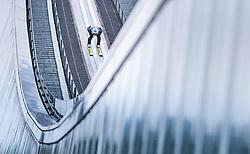 01.01.2018, Olympiaschanze, Garmisch Partenkirchen, GER, FIS Weltcup Ski Sprung, Vierschanzentournee, Garmisch Partenkirchen, Probesprung, im Bild Kamil Stoch (POL) // Kamil Stoch of Poland during his Trial Jump for the Four Hills Tournament of FIS Ski Jumping World Cup at the Olympiaschanze in Garmisch Partenkirchen, Germany on 2018/01/01. EXPA Pictures © 2018, PhotoCredit: EXPA/ JFK