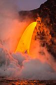 Lava eruption gallery