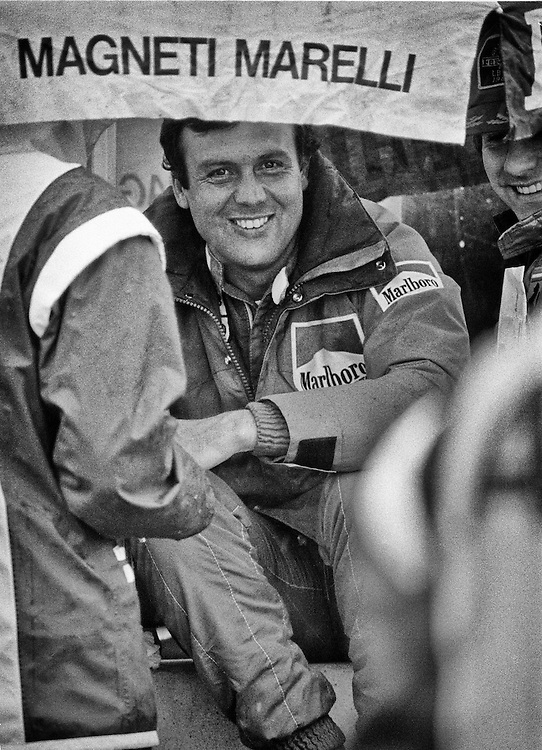 French F1 driver Patrick Tambay took over the Scuderia Ferrari race seat of his great friend, Gilles Villeneuve, following his tragic death in 1982 during the Belgian Grand Prix. <br />