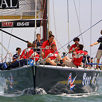 Round the Island Race 2003. Bear of Britain. Cowes, Isle of Wight, England,
