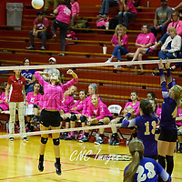 10-04-16 Berryville Volleyball @ Green Forest