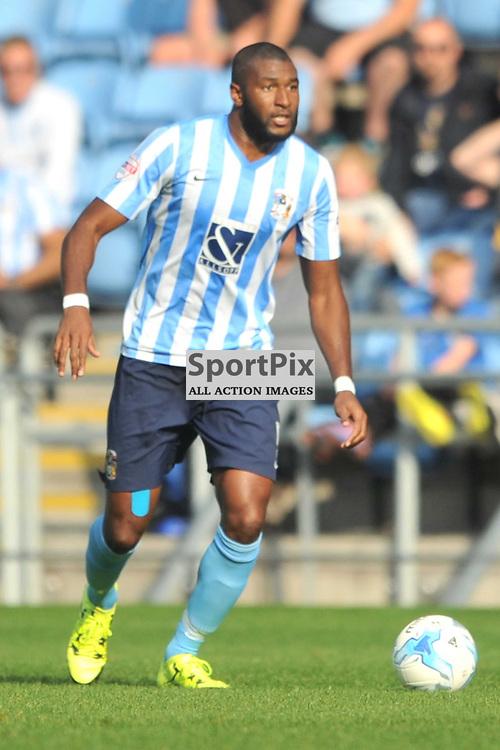 Reda Johnson Coventry City, Coventry City v Shreswsbury Ricoh Arena, Football League One, Saturday 3rd October 2015
