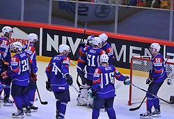 11.05.2013, Globe Arena, Stockholm, SWE, IIHF, Eishockey WM, Schweden vs Slowenien, im Bild matchen slut deppSlovenia (Slovenien) // during the IIHF Icehockey World Championship Game between Sweden and Slovenia at the Ericsson Globe, Stockholm, Sweden on 2013/05/11. EXPA Pictures © 2013, PhotoCredit: EXPA/ PicAgency Skycam/ Simone Syversson..***** ATTENTION - OUT OF SWE *****