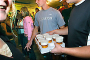 Nederland, Huissen, 30-9-2006..Jongen loopt met bier op een feest voor de jeugd...Foto: Flip Franssen/Hollandse Hoogte