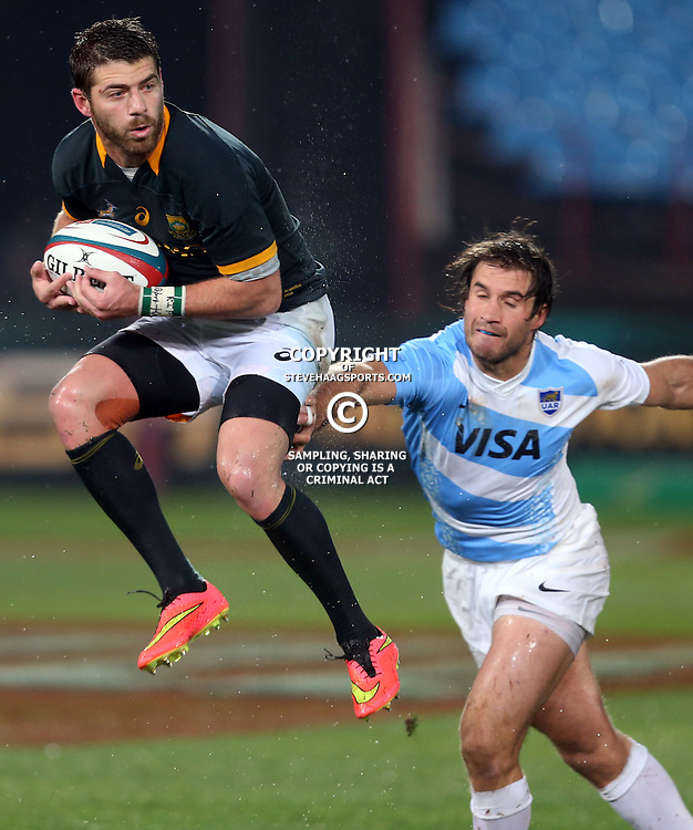 PRETORIA, SOUTH AFRICA - AUGUST 16: Willie le Roux of South Africa during The Castle Rugby Championship match between South Africa and Argentina at Loftus Versfeld on August 16, 2014 in Pretoria, South Africa. (Photo by Steve Haag/Gallo Images)