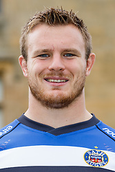 Grant Shiells of Bath Rugby poses for a head shot at the club's training ground - Photo mandatory by-line: Rogan Thomson/JMP - 28/08/2014 - SPORT - RUGBY UNION - Farleigh House, Bath - Bath Rugby Media Day 2014/15 - Aviva Premiership.