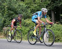 09.07.2016, Wien, AUT, Ö-Tour, Österreich Radrundfahrt, 7. Etappe, Bad Tatzmannsdorf nach Wien/Kahlenberg, im Bild v.l. David Belda Garcia (ESP, Team Roth), Markus Eibegger (AUT, Team Felbermayr Simplon Wels) // during the Tour of Austria, 7th Stage from Bad Tatzmannsdorf to Vienna/Kahlenberg Wien, Austria on 2016/07/09. EXPA Pictures © 2016, PhotoCredit: EXPA/ Reinhard Eisenbauer