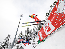 16.12.2017, Nordische Arena, Ramsau, AUT, FIS Weltcup Nordische Kombination, Skisprung, im Bild Hideaki Nagai (JPN) // Hideaki Nagai of Japan during Skijumping Competition of FIS Nordic Combined World Cup, at the Nordic Arena in Ramsau, Austria on 2017/12/16. EXPA Pictures © 2017, PhotoCredit: EXPA/ Martin Huber
