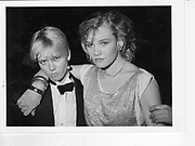 Candida Mayhew; Olivia Ayrton-Grime;. Feathers Ball. Hammersmith Palais. London. 1983.  *** Local Caption *** -DO NOT ARCHIVE-? Copyright Photograph by Dafydd Jones 66 Stockwell Park Rd. London SW9 0DA Tel 020 7733 0108 www.dafjones.com