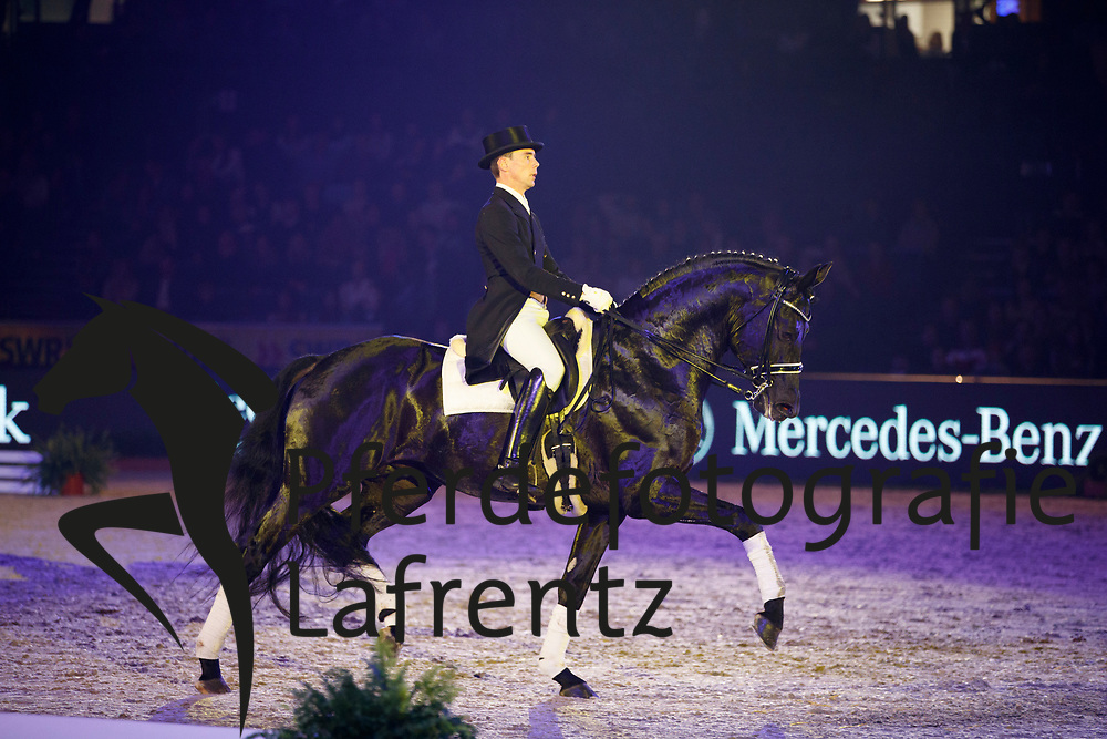 Schwarzgold<br /> Stuttgart - German Masters 2016<br /> © www.sportfotos-lafrentz.de