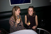 ANOUSKHA D'ABO; LEONOR DU JEU, Brompton Bar And Grill - launch party - celeb update<br /> Brompton Bar And Grill, 243 Brompton Road, London, SW3 11 March 2009 *** Local Caption *** -DO NOT ARCHIVE-© Copyright Photograph by Dafydd Jones. 248 Clapham Rd. London SW9 0PZ. Tel 0207 820 0771. www.dafjones.com.<br /> ANOUSKHA D'ABO; LEONOR DU JEU, Brompton Bar And Grill - launch party - celeb update<br /> Brompton Bar And Grill, 243 Brompton Road, London, SW3 11 March 2009