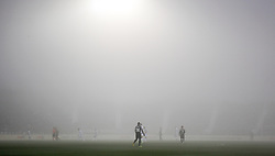 December 23, 2018 - Madrid, Madrid, Spain - Fog, ilustration, during the spanish championship La Liga football match played between CD Leganes and Sevilla FC at Municipal Butarque stadium in Leganes, Madrid, Spain. Dic 23th 2018. (Credit Image: © AFP7 via ZUMA Wire)