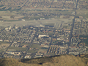 birds eye view of Palm springs area Southern California