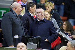 LIVERPOOL, ENGLAND - Thursday, November 26, 2015: Liverpool's Managing Director Ian Ayre before the UEFA Europa League Group Stage Group B match against FC Girondins de Bordeaux at Anfield. (Pic by David Rawcliffe/Propaganda)