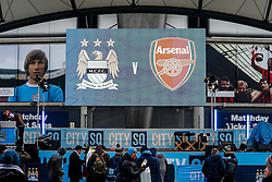 General View outside the stadium - Photo mandatory by-line: Rogan Thomson/JMP - 07966 386802 - 18/01/2015 - SPORT - FOOTBALL - Manchester, England - Etihad Stadium - Manchester City v Arsenal - Barclays Premier League.