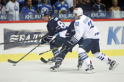 28.08.2015, Dom Sportova, Zagreb, CRO, KHL League, KHL Medvescak vs Admiral Vladivostok, 2. Runde, im Bild Mark Katic. // during the Kontinental Hockey League, 2nd round match between KHL Medvescak and Admiral Vladivostok at the Dom Sportova in Zagreb, Croatia on 2015/08/28. EXPA Pictures © 2015, PhotoCredit: EXPA/ Pixsell/ Goran Jakus<br /> <br /> *****ATTENTION - for AUT, SLO, SUI, SWE, ITA, FRA only*****