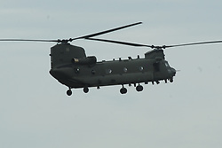 CHINOOK HELICOPTER, RAF Conningsby Lincolnshire, 15th May 2017