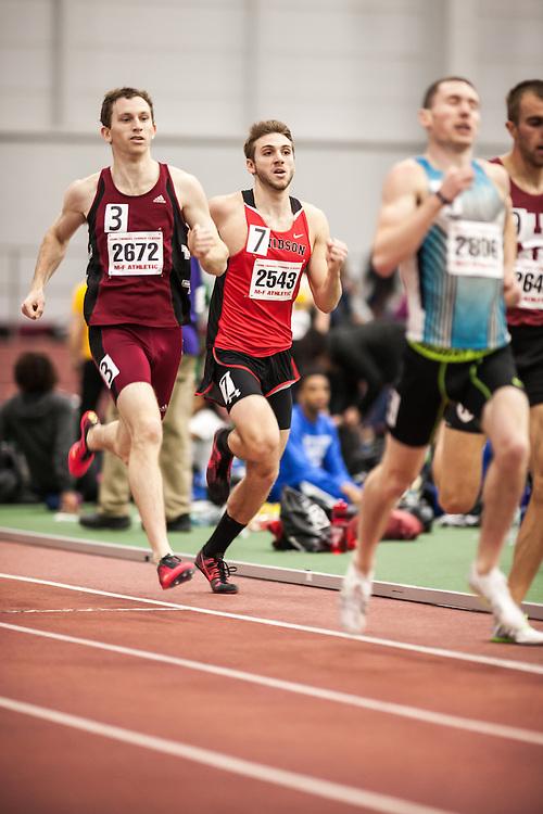 Boston University Scarlet & White Indoor Track and Field: men's 800 meters, Davidson College, Patrick Rollo
