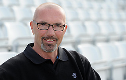 Somerset's Coach Matt Maynard - Photo mandatory by-line: Harry Trump/JMP - Mobile: 07966 386802 - 17/03/15 - SPORT - Cricket - Somerset Press Call - The County Ground, Taunton, England.