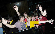 Foals<br /> live at The Scala, London, Great Britain<br /> October 2, 2007 <br /> <br /> Photograph by Elliott Franks <br /> <br /> Foals are an English indie rock band from Oxford. They are currently signed to Transgressive Records in the UK and Sub Pop in the US. They released their debut album Antidotes on 24 March 2008 in the UK, and 8 April 2008 in the US.[1] The band's second album, Total Life Forever, was released on the 10 May 2010 and was nominated for the 2010 Mercury Prize.<br /> <br /> Yannis Philippakis<br /> Jack Bevan<br /> Jimmy Smith<br /> Edwin Congreave<br /> Walter Gervers