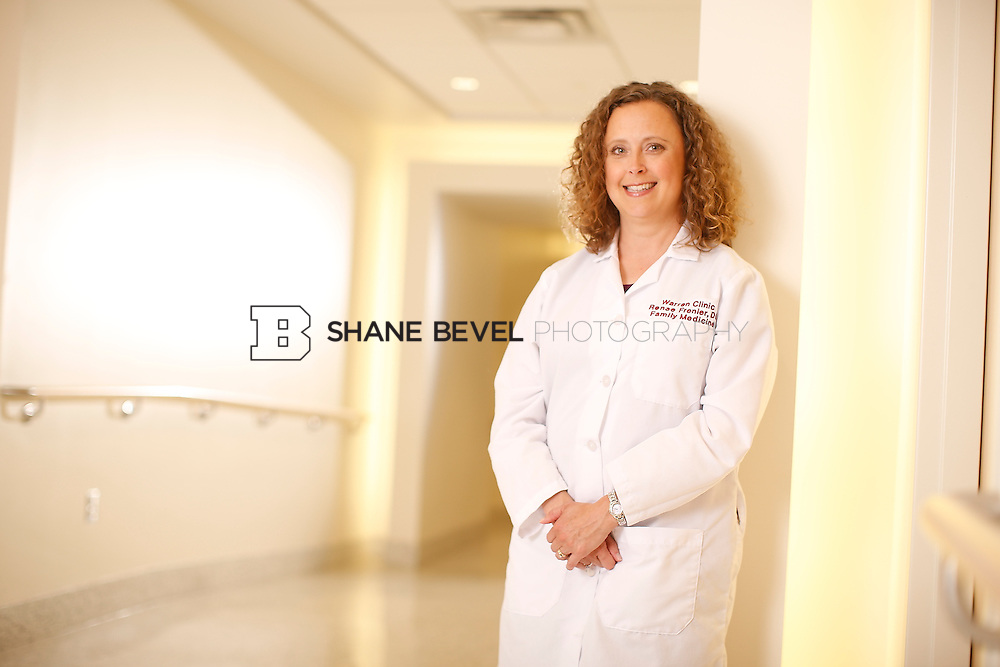 5/28/15 4:20:30 PM -- Dr. Renee Frenier of Saint Francis Health System poses for a portrait for the 2015 Advertising Campaign. <br /> <br /> Photo by Shane Bevel