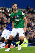 Brighton and Hove Albion midfielder Beram Kayal (7) during the Premier League match between Everton and Brighton and Hove Albion at Goodison Park, Liverpool, England on 3 November 2018.