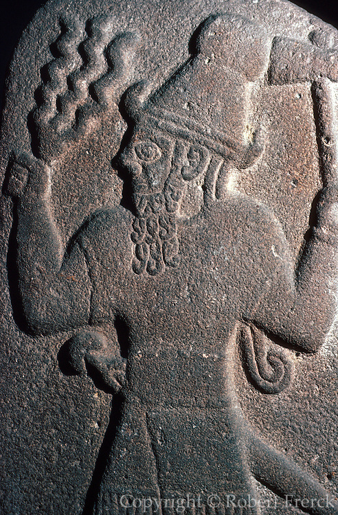 TURKEY, ISTANBUL Museum of the Ancient Orient; Hittite relief of the Storm God from Babylon