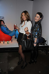Left to right, JAIME WINSTONE and MELANIE BLATT at the launch of 2 collections by jeweller Stephen Webster - ÔThe 7 Deadly SinsÕ and ÔNo RegretsÕ held at The Old Vics Tunnels, Under Waterloo Station, Off Leake Street, London SE1 on 8th December 2010.<br /> Left to right, JAIME WINSTONE and MELANIE BLATT at the launch of 2 collections by jeweller Stephen Webster - 'The 7 Deadly Sins' and 'No Regrets' held at The Old Vics Tunnels, Under Waterloo Station, Off Leake Street, London SE1 on 8th December 2010.