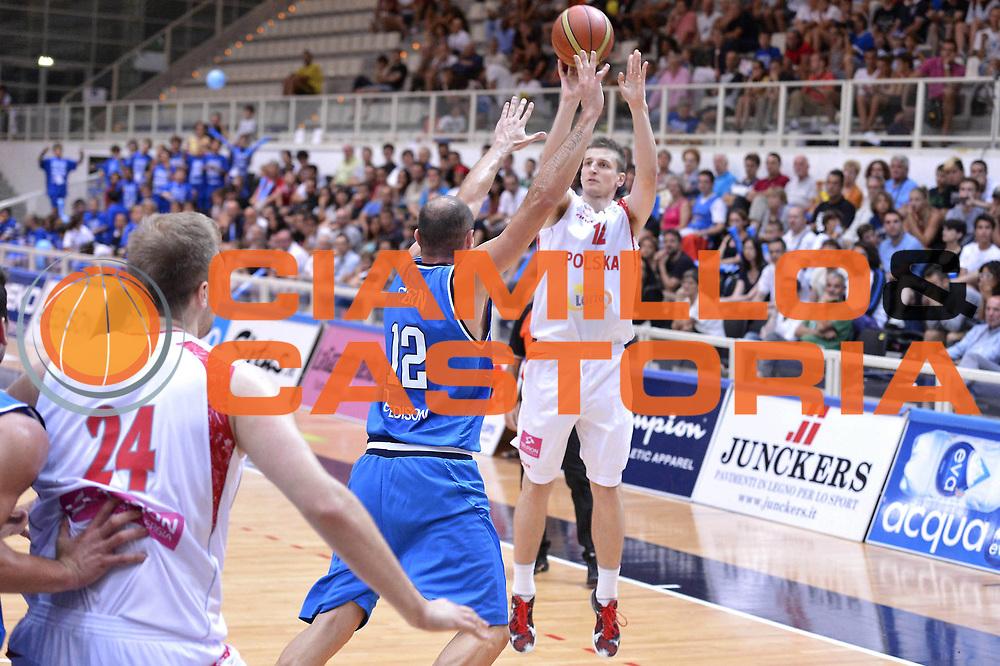 DESCRIZIONE : Trento Basket Cup 2013 Italia Polonia<br /> GIOCATORE : Adam Waczynsky<br /> CATEGORIA : three points<br /> SQUADRA : Nazionale Italia Uomini Maschile<br /> EVENTO : Trento Basket Cup 2013 Italia Polonia<br /> GARA : Italia Polonia<br /> DATA : 09/08/2013<br /> SPORT : Pallacanestro<br /> AUTORE : Agenzia Ciamillo-Castoria/GiulioCiamillo<br /> Galleria : FIP Nazionali 2013<br /> Fotonotizia : Trento Basket Cup 2013 Italia Polonia<br /> Predefinita :