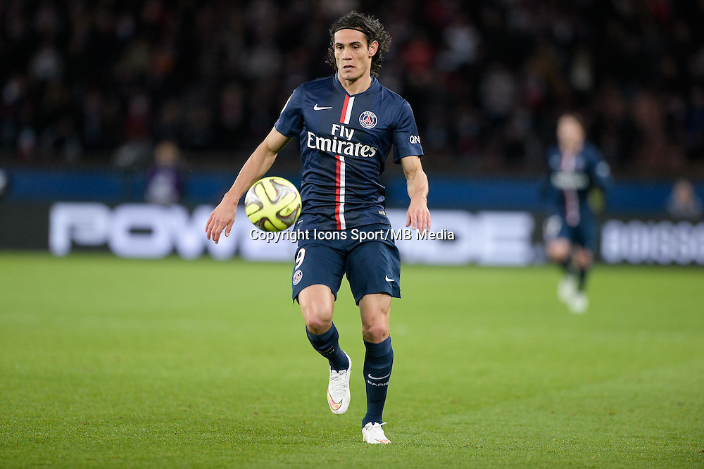 Edinson CAVANI - 20.12.2014 - Paris Saint Germain / Montpellier - 17eme journee de Ligue 1 -<br />
