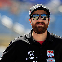 17-18 July, 2015, Newton, Iowa USA<br /> James Hinchcliffe<br /> ©2015, Phillip Abbott<br /> LAT Photo USA