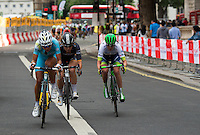 LONDON UK 30TH JULY 2016:  Classique Cyclist Peleton Parliament Square. The Prudential RideLondon Classique elite womens' race. Prudential RideLondon in London 30th July 2016<br /> <br /> Photo: Jon Buckle/Silverhub for Prudential RideLondon<br /> <br /> Prudential RideLondon is the world's greatest festival of cycling, involving 95,000+ cyclists – from Olympic champions to a free family fun ride - riding in events over closed roads in London and Surrey over the weekend of 29th to 31st July 2016. <br /> <br /> See www.PrudentialRideLondon.co.uk for more.<br /> <br /> For further information: media@londonmarathonevents.co.uk