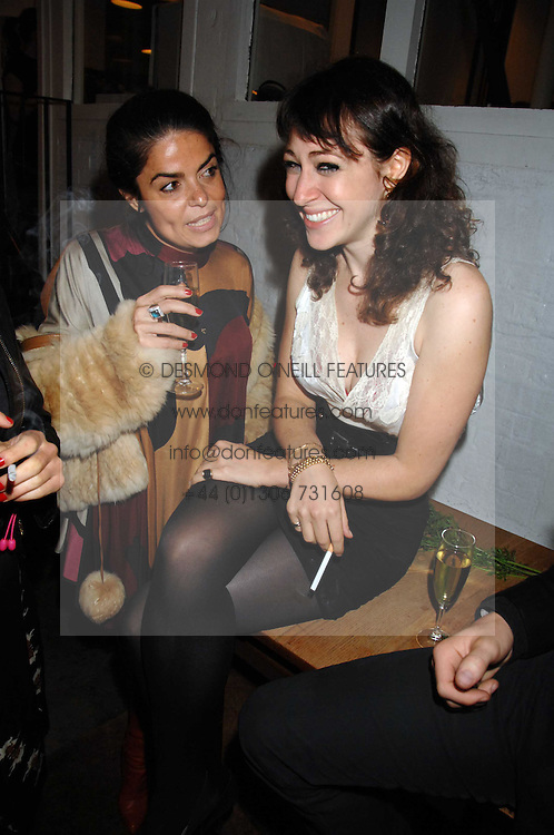 Left to right, DANIELLA HELAYEL and ANNIE MORRIS at an auction in aid of The Parkinson's Appeal for Deep Brain Stimulation 'Meeting of Minds' held at Christie's, King Street, London SW1 followed by a dinner at St.John, 26 St.John Street, London on 16th October 2007.<br /><br />NON EXCLUSIVE - WORLD RIGHTS