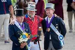 Exell Boyd, AUS, Weber Chester, USA<br /> World Equestrian Games - Tryon 2018<br /> © Hippo Foto - Dirk Caremans<br /> 23/09/2018
