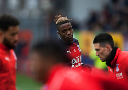 Wilfried Zaha of Crystal Palace warms up - Mandatory by-line: Jack Phillips/JMP - 02/03/2019 - FOOTBALL - Turf Moor - Burnley, England - Burnley v Crystal Palace - English Premier League