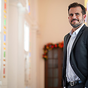 SAN JUAN, PUERTO RICO - DECEMBER 18:<br /> Ricardo Rossel&oacute; Nevares, Governor of Puerto Rico<br />  during a conversation in La Fortaleza, the Governor's mansion, on December 18, 2018 in San Juan, Puerto Rico. (Photo by Angel Valentin/Getty Images for Oracle Corporation )