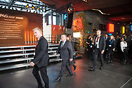 20.10.2018. Copenhagen, Denmark.  <br /> The Prime Minister of Denmark Lars Løkke Rasmussen arrival to the family picture during the P4G Copenhagen Summit 2018 at The Danish Radio Concert Hall.<br /> Photo: © Ricardo Ramirez