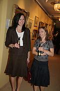 Zoe Layden and Elizabeth Yeats-Brown, New Collectors Evening. Grosvenor House Antiques Fair. Park Lane. 19 June 2007.  -DO NOT ARCHIVE-© Copyright Photograph by Dafydd Jones. 248 Clapham Rd. London SW9 0PZ. Tel 0207 820 0771. www.dafjones.com.