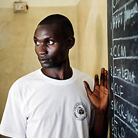 Dar Es Salaam, Tanzania 31 October 2010<br /> A Tanzanian polling station officer counts the votes on a blackboard after the presidential election.<br /> The European Union has launched an Election Observation Mission in Tanzania to monitor the general elections, responding to the Tanzanian government invitation to send observers for all aspects of the electoral process.<br /> The EU sent this observation mission led by Chief Observer David Martin, a member of the European Parliament. <br /> PHOTO: EZEQUIEL SCAGNETTI
